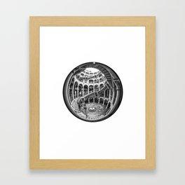 Circular Fisheye #1 Framed Art Print
