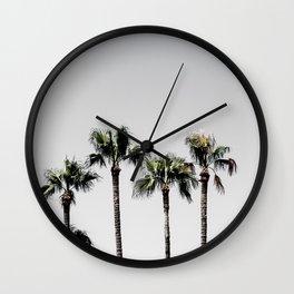 Palm Trees 5 Wall Clock