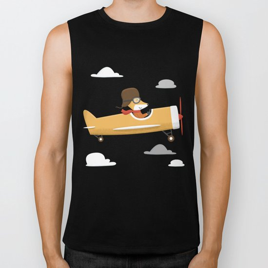 Mr. Fox is Flying Biker Tank