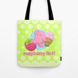 Raspberry Fluff Tote Bag