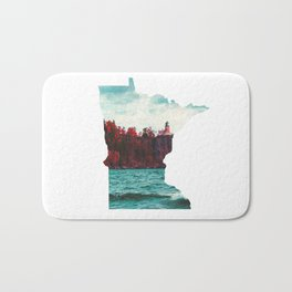 Minnesota-Split Rock Lighthouse at Lake Superior Bath Mat