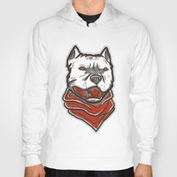 pitbull Hoodies featuring Pitbull by VentureDesign