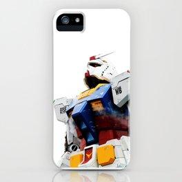 the best gundam iPhone Case