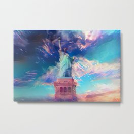 Welcome To The Bright Side Metal Print