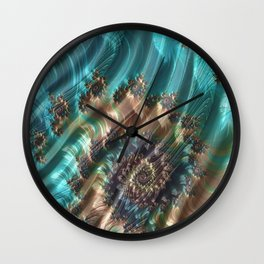 River Currents Wall Clock