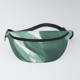 Banana Leaves Jungle #5 #tropical #decor #art #society6 Fanny Pack