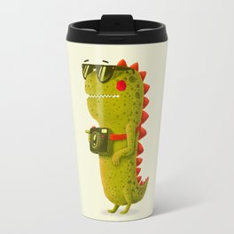 Dino touristo (olive) Travel Mug