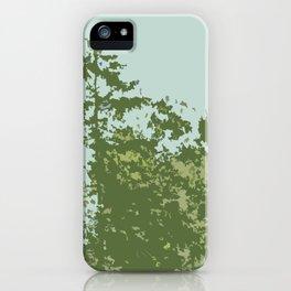 Tree Tops iPhone Case