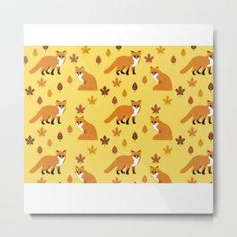 Fox Trot 3.0 Metal Print