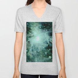 Orion neBUla. : Green Unisex V-Neck