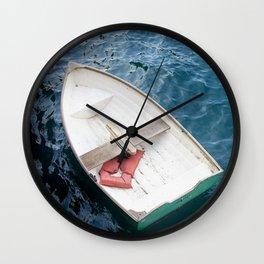 Rowboat  Wall Clock