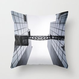 Architectural Symmetry Throw Pillow
