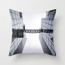 Architectural Symmetry Throw Pillow