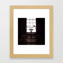 i want to ride my... Framed Art Print