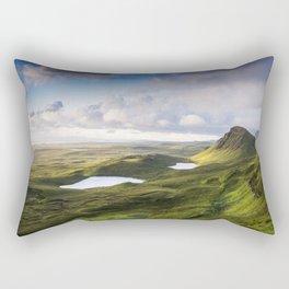 The Beauty of the Quiraing Rectangular Pillow