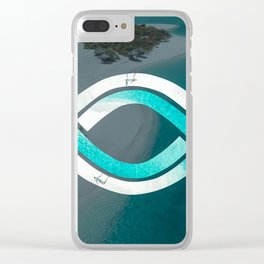 Eye of the Ocean Clear iPhone Case