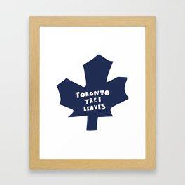 torrano tree leaves Framed Art Print