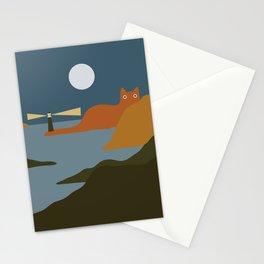 Cat Landscape 20 Stationery Cards
