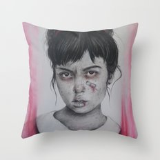Princess Issues Throw Pillow