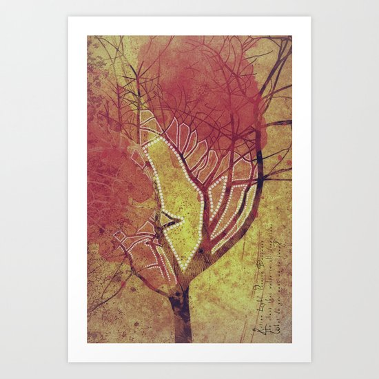I CAN ONLY KNOW BY DOING Art Print