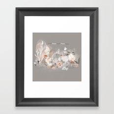 Three dancers Framed Art Print