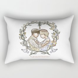 """Illustration from the video of the song by Wilder Adkins, """"When I'm Married"""" (no names on it) Rectangular Pillow"""