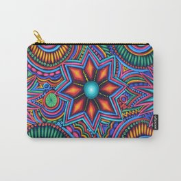 QUYLUUR INDIAN PAINTING Carry-All Pouch