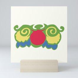 Adorable Green Owl Mini Art Print