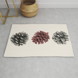 Pine cones Rug