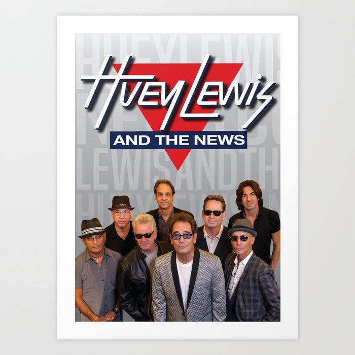 HUEY LEWIS AND THE NEWS LIVE TOUR DATES 2019 IJAD Art Print by fa761