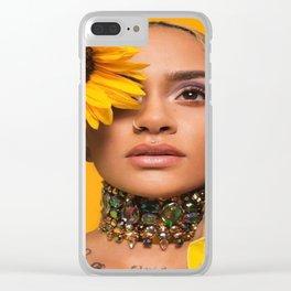 Kehlani 24 Clear iPhone Case