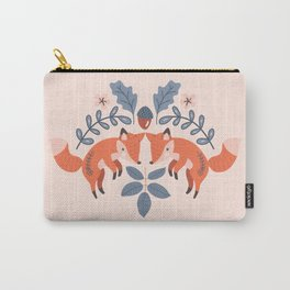 A Pair of Pouncing Fox Carry-All Pouch