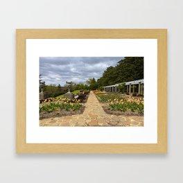 Italian Garden at Maymont Framed Art Print