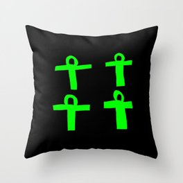Ankh- crux ansata 15 Throw Pillow