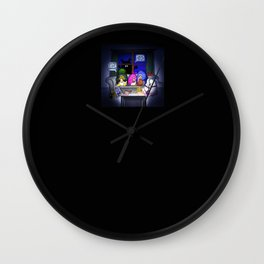 Scary Movie Night Wall Clock