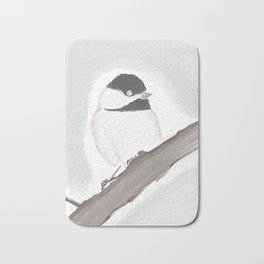Maine • Chickadee Bath Mat