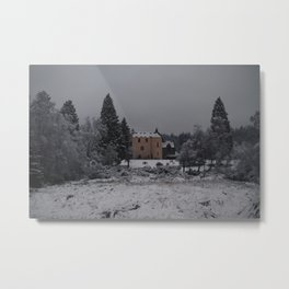 500 Year Old Castle in Scotland Metal Print