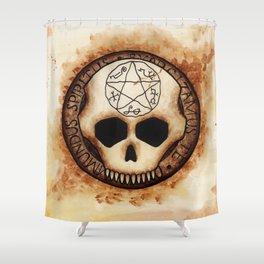 Exorcizamus Te Shower Curtain