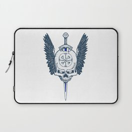 Valhalla Skull Laptop Sleeve
