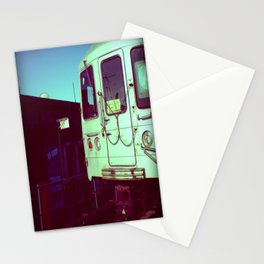 Subway A train in Queens - NYC Stationery Cards