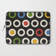 Circle Pattern Laptop Sleeve