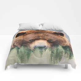 Grizzly Wood Comforters