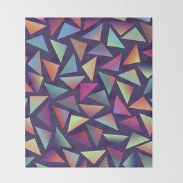 Geometric Pattern III Throw Blanket