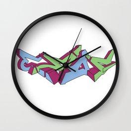 Eman by Manny my good friend Wall Clock