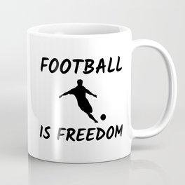 Football Player Coffee Mug