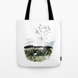 Dream of the Chicago wetlands. Tote Bag