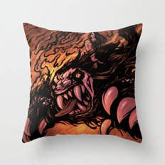 Zaulian Beast Throw Pillow