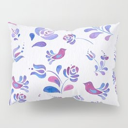 Violet Nature Pillow Sham