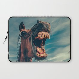 Horse smile Laptop Sleeve