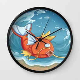 Derp of the Sea Wall Clock